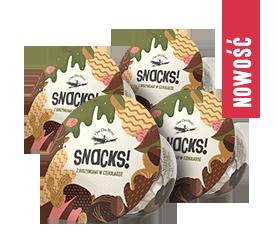 Snacks! z rodzynkami w czekoladzie