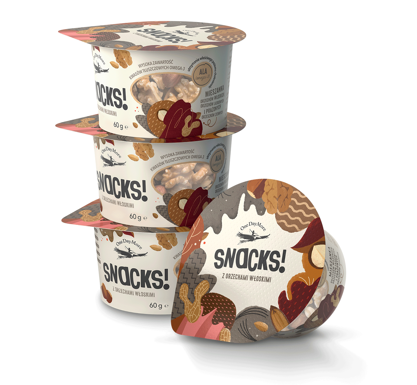 sSnacks! z orzechami włoskimi onedaymore