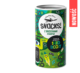 Snacks! Speed Boost z orzeszkami ziemnymi