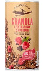 Granola Czekoladowa z Malinam onedaymore