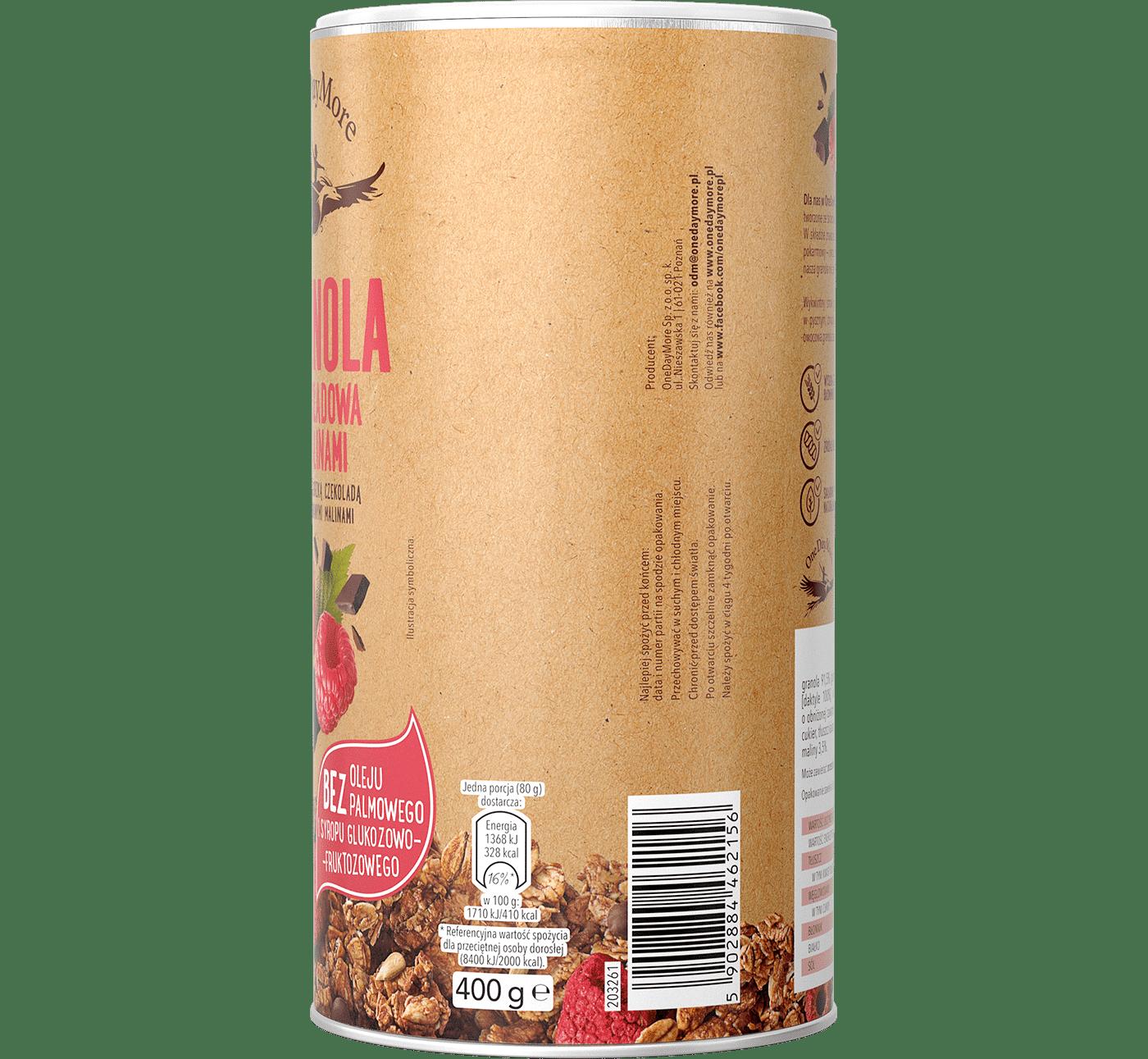 granola-czekoladowa-z-malinami-onedaymore-bok-1400×1291