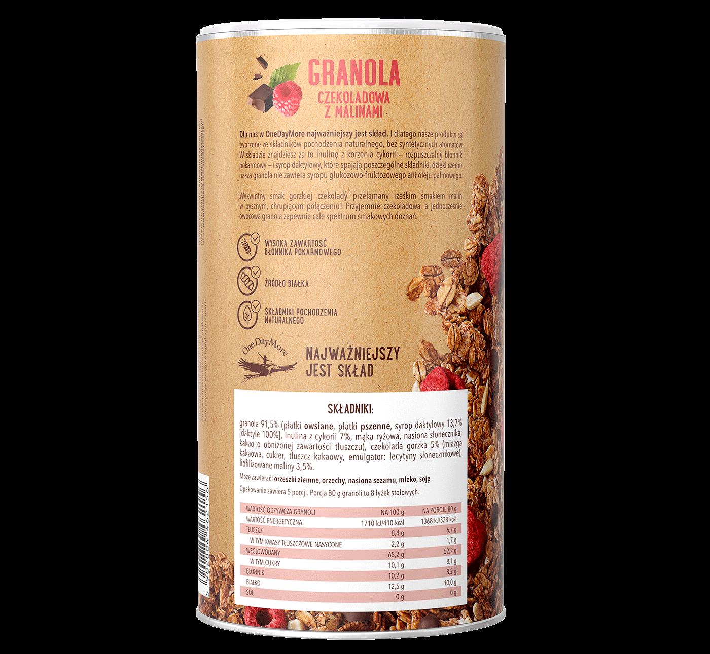 granola-czekoladowa-z-malinami-onedaymore-tuba-tyl-1400×1291
