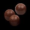 Ekstrudowane chrupki zbożowe w czekoladzie mlecznej
