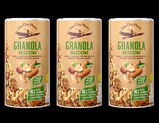 Granola Orzechowa zestaw