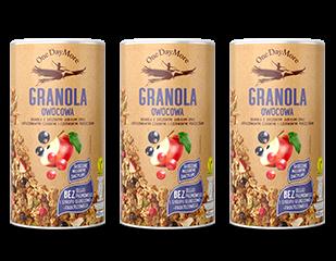Granola Owocowa zestaw