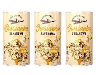 Owsianka Bananowa Bez Cukru zestaw