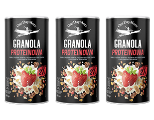 Granola Proteinowa OneDayMore zestaw