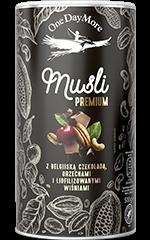 Musli Premium z Belgijską Czekoladą OneDayMore