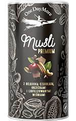 Musli Premium z Belgijską Czekoladą