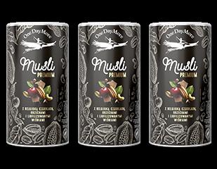 Musli Premium z Belgijską Czekoladą OneDayMore zestaw