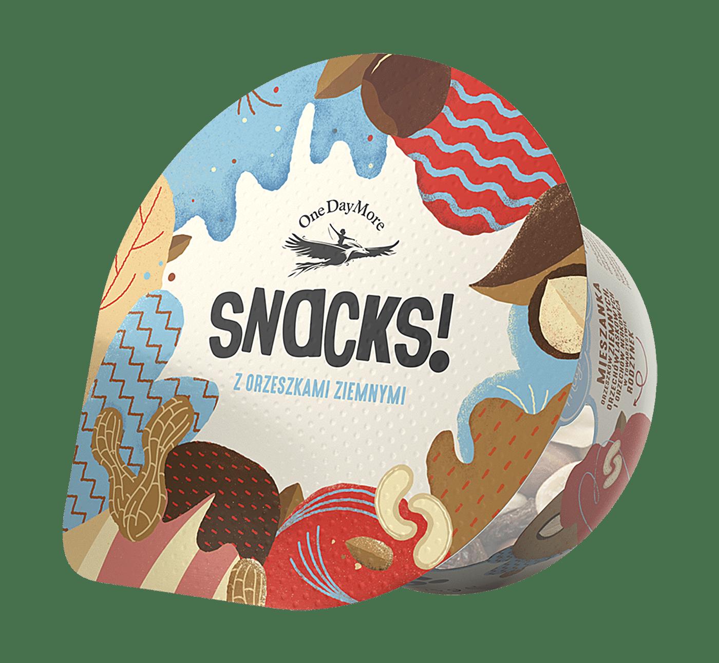 Kubek Snacks! z orzeszkami ziemnymi