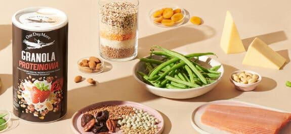 Białko, dietetyczny bohater – ile należy go jeść i skąd je brać? OneDayMore